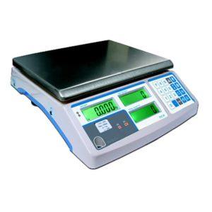 Contapezzi elettronico modello DSC con display LCD retroilluminato