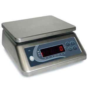 Bilancia per il controllo del peso con display LED rosso e tasti funzione