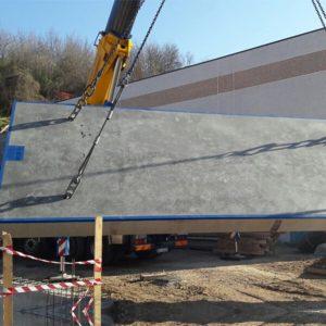 Pesa a ponte in cemento beton adatta per impieghi pesanti