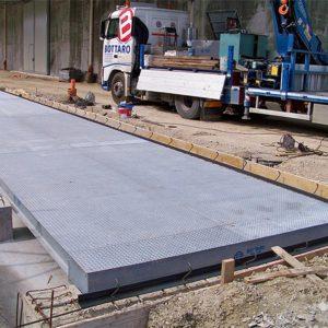 Pesa a ponte modulare PRO con struttura in acciaio
