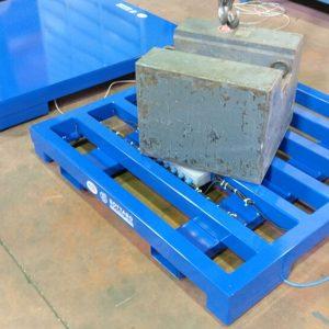 Pesetta PRO industriale con carpenteria costituita da struttura tubolare in acciaio verniciato