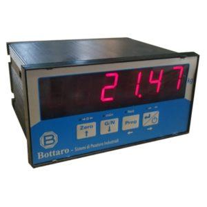 Terminale per pesatura elettronico con display per sistemi a celle di carico analogiche
